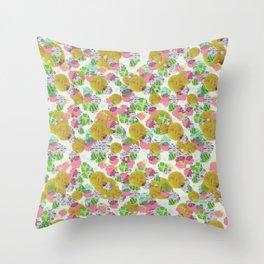 Plancton Throw Pillow