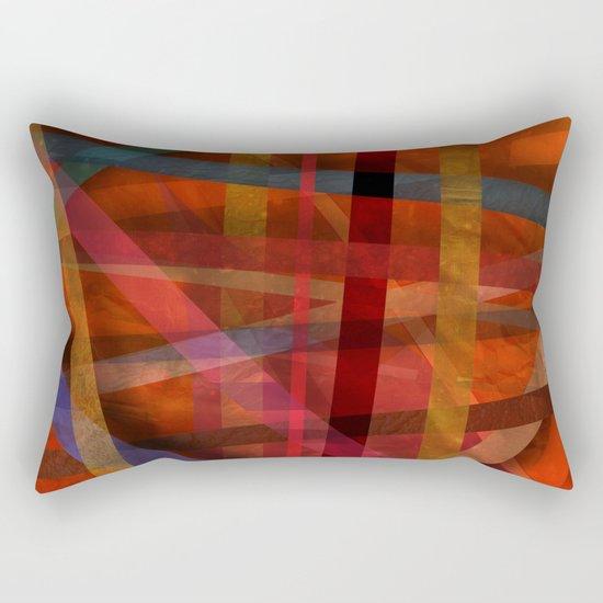 Abstract #466 Rectangular Pillow