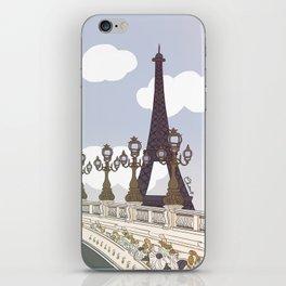 Paris, mon amour iPhone Skin