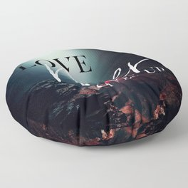 Love Never Gives Up Floor Pillow