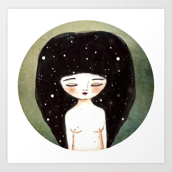 I am the Cosmos Art Print