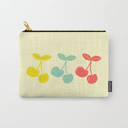 Mid-Century Three Cherries-Collection 1 Carry-All Pouch