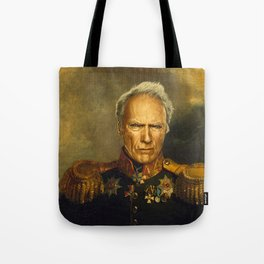 Clint Eastwood - replaceface Tote Bag