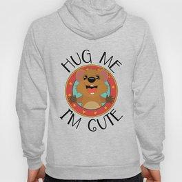 Quokka Australia Kangaroo Marsupial Hug Me Hoody
