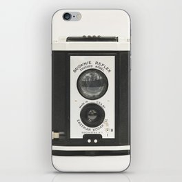 Brownie Reflex Camera Photography, Old Vintage Camera iPhone Skin