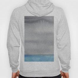 Minimalist watercolor seascape Hoody
