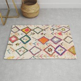 Traditional Vintage Moroccan Berber rug Rug