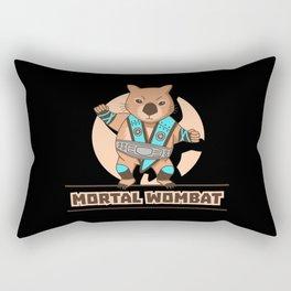 Mortal Wombat Rectangular Pillow