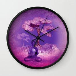 being quiet Wall Clock