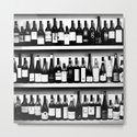 Wine Bottles in Black And White #society6 #decor by pivivikstrm