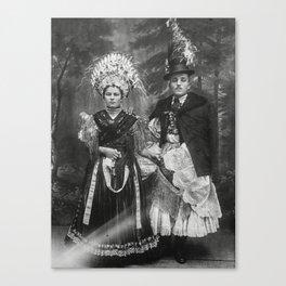 Happy Wedding Canvas Print