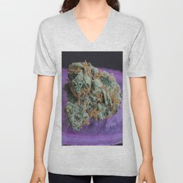 Jenny's Kush Medical Weed Unisex V-Neck