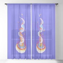 Jellyfish Sheer Curtain