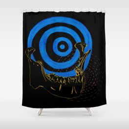 Human Jaw Shower Curtain