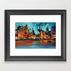 City Scapes Framed Art Print