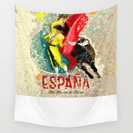 España Wall Tapestry