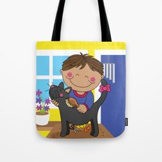 Hair CAt Day! Tote Bag