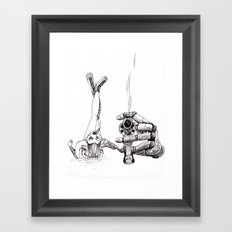 Smoking Gun Framed Art Print