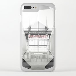 Middlesbrough Football Clear iPhone Case