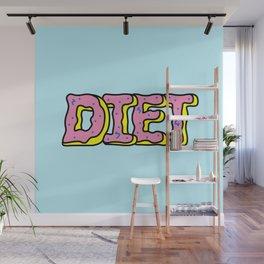 Donut Diet Wall Mural