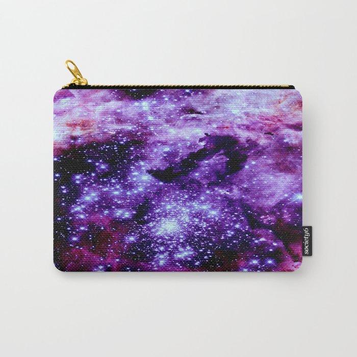 galaXy. Stars Purple Pink Nebula Carry-All Pouch