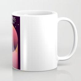 Visit Mars Travel poster Coffee Mug
