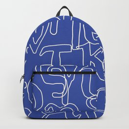 Greek Alphabet Backpack