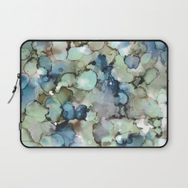 Alcohol Ink Sea Glass Laptop Sleeve