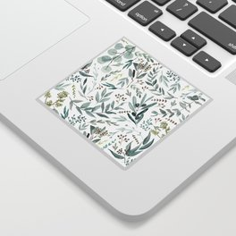 Eucalyptus pattern Sticker