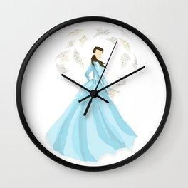 eliza schuyler hamilton Wall Clock