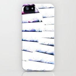 α White Crateris iPhone Case