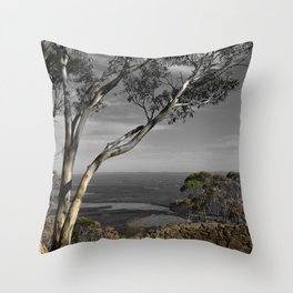 Major Mitchell Lookout Mount Macedon Throw Pillow