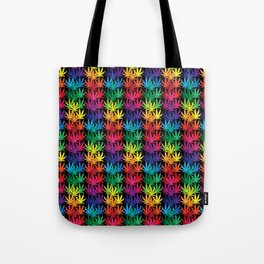 Cannabis Rainbow Tote Bag