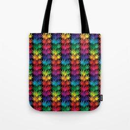 Cannabis Rainbow Tote Bag