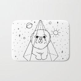 Shih Tzu Galaxy Bath Mat