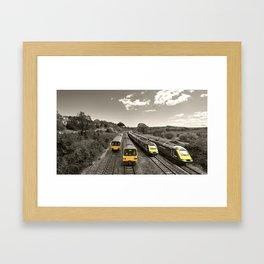 Aller Panoramic Framed Art Print