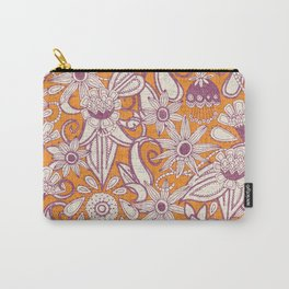 sarilmak tangerine damson Carry-All Pouch