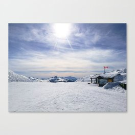 Little Whistler Peak Canvas Print