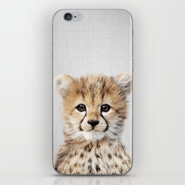 Baby Cheetah - Colorful iPhone Skin