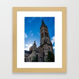Stuttgart : Matthäuskirche Framed Art Print