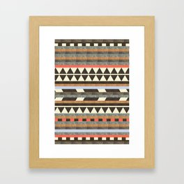 DG Aztec No.1 Framed Art Print