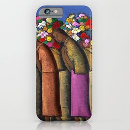 Magnificent 'Las Floreras' by Alfredo Martinez iPhone Case