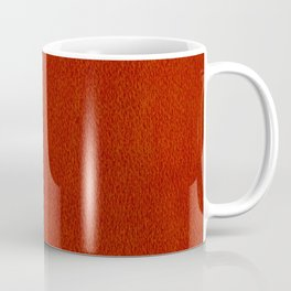 Red Watercolor Square Coffee Mug