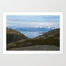 Kvaenangsfjord, Norway 2 Art Print
