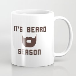 It's Beard Season Coffee Mug