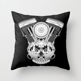 Motor Mind Throw Pillow