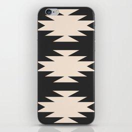 Minimal Southwestern - Charcoal iPhone Skin