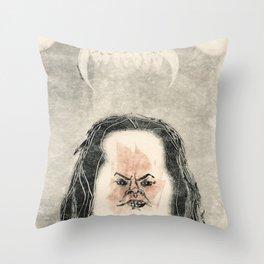 Monozig Throw Pillow
