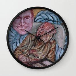Mom loves Tom Wall Clock