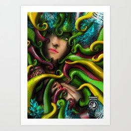 Among the Growth Art Print